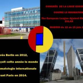 EULAR À MADRID - 12-15 JUIN 2013